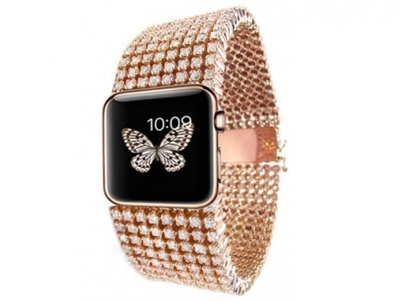 Diamond iWatch: алмазные смарт-часы