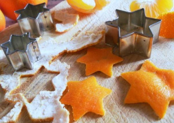 Новогодние игрушки своими руками из корки апельсина (ФОТО)