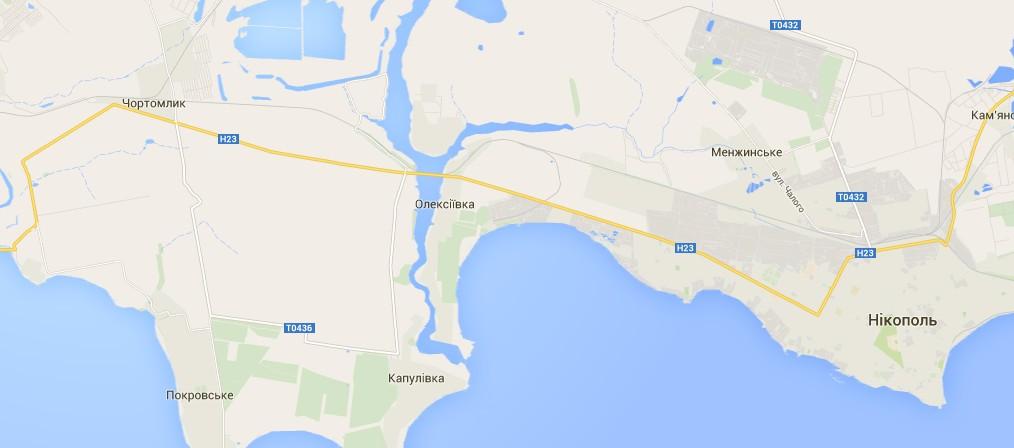 Между Днепропетровском и Запорожьем застряли сотни машин
