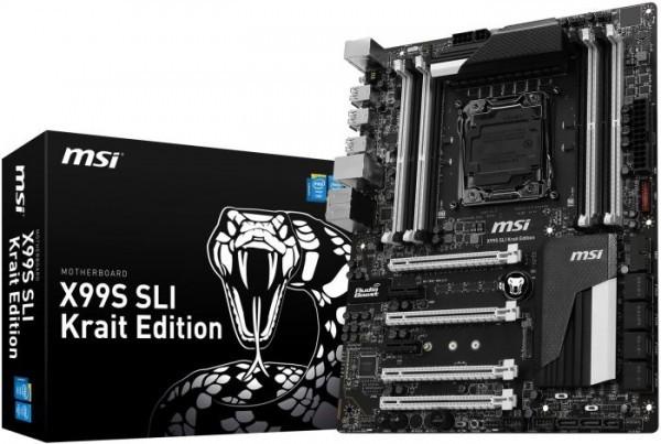 Серию MSI Krait Edition пополнила плата X99S SLI