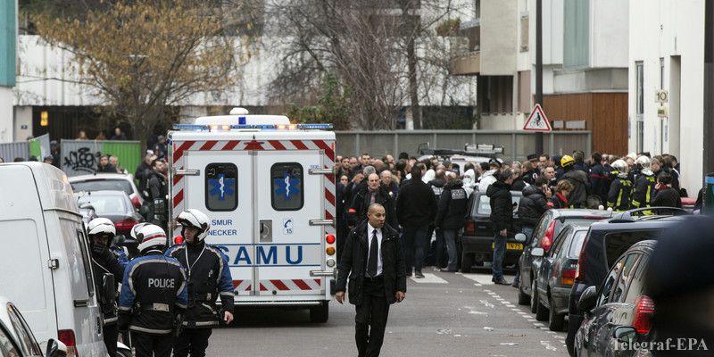 Теракт в Париже. Число жертв достигло 12 человек (ВИДЕО)