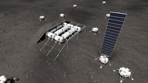 Россия планирует построить базу на Луне (ФОТО)