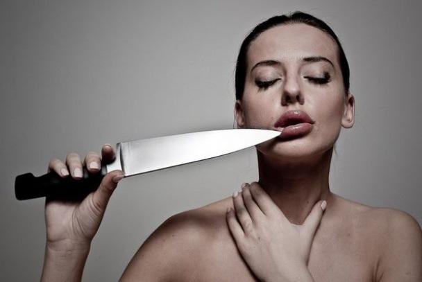 ФОТО советницы главы Минэкономразвития с ножом и в вышиванке