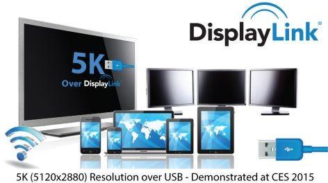 Новая технология вывода 5K-изображения посредством USB 3.0