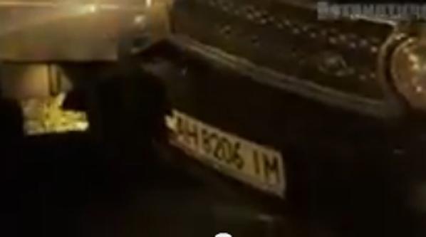 ФОТО: Джип с боевиками ДНР по встречке врезался в маршрутку