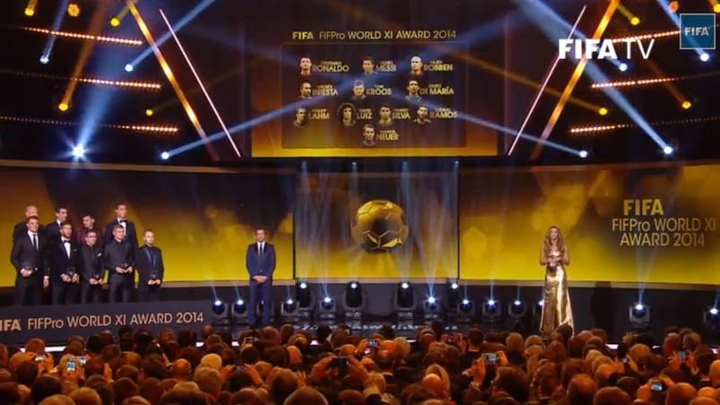 Золотой мяч-2014: символическая сборная года