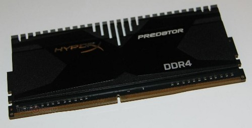 Оператива Kingston HyperX Predator DDR4 и HyperX Fury DDR4