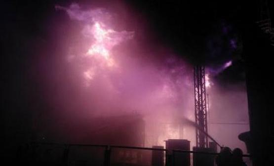Ночью горела Южно-Украинская АЭС (ВИДЕО)