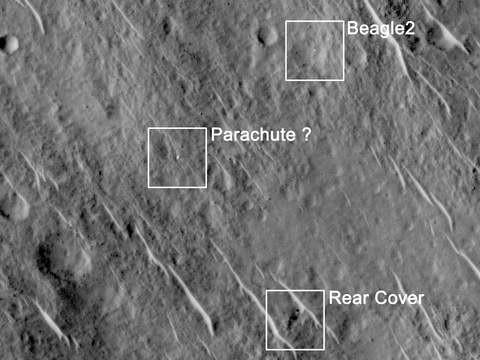 ФОТО: Пропавший 12 лет назад аппарат обнаружен на Марсе