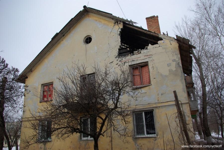 """ФОТО: ЛНР """"Градами"""" выжигает поселки на Луганщине"""