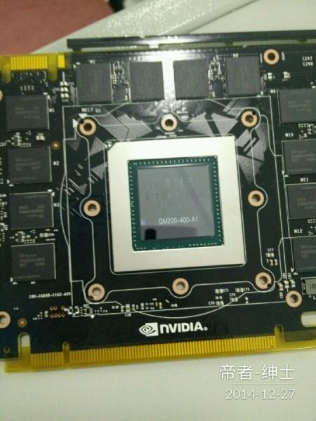 ФОТО: Первые снимки прототипа топового NVIDIA GM200