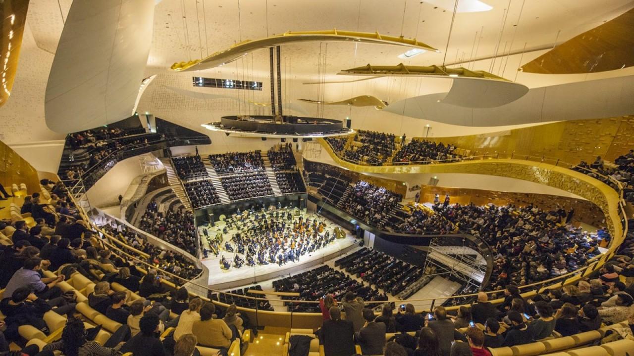 В Париже открыта самая дорогая в мире филармония