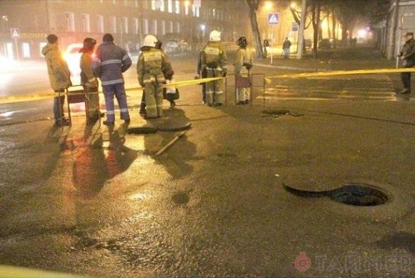 В центре Одессы прогремел взрыв (ФОТО)