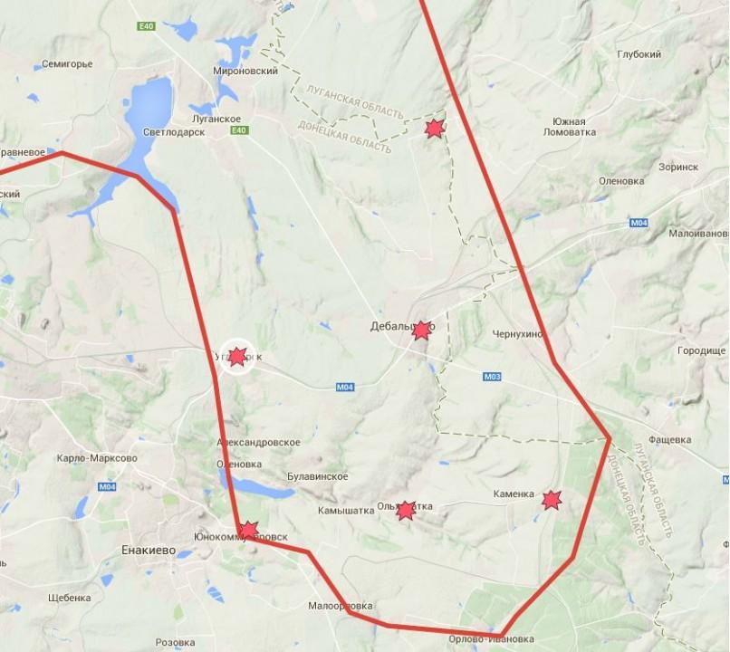Граждан Дебальцево эвакуируют, боевики палят по автобусам