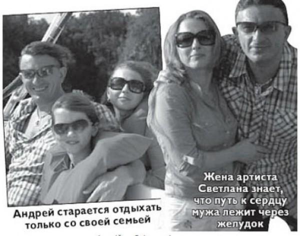 Семья российского актера Кузьмы Скрябина