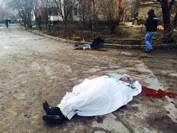 """ВИДЕО: В Донецке из """"Градов"""" убили клинику и сад"""