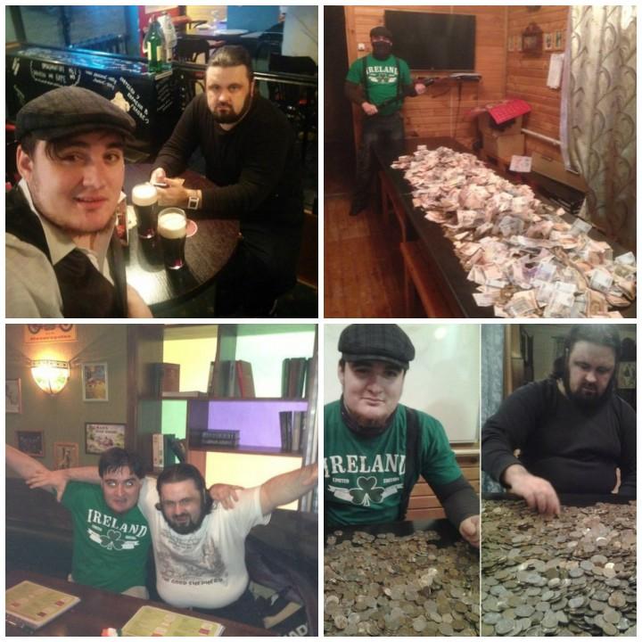 ФОТО: Питерский дьякон ездит в Донецк молиться за боевиков