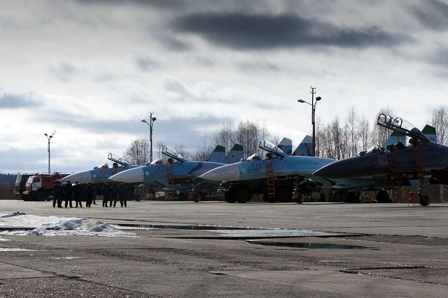 ФОТО: Российская авиация репетирует удар по Украине