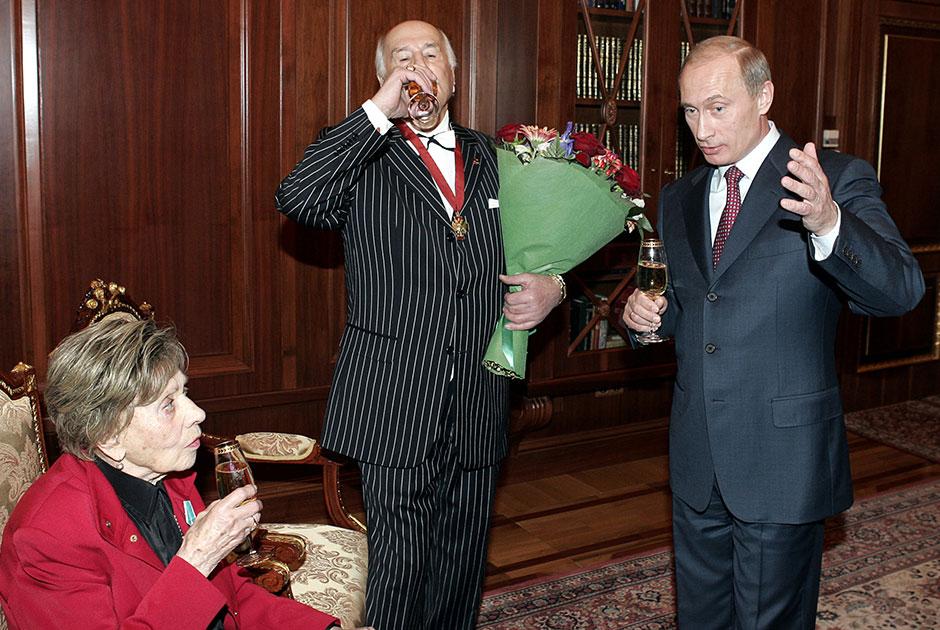 Владимиру Зельдину 10 февраля исполнилось 100 лет (ФОТО)