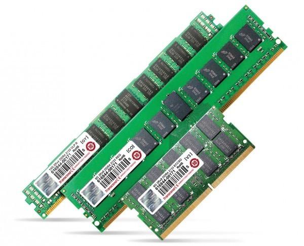 Transcend расширила ассортимент оперативной памяти DDR4
