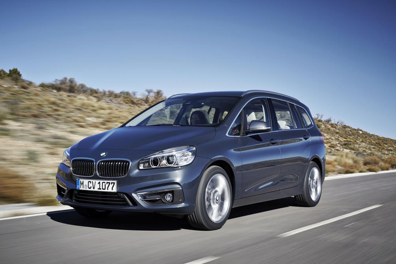 BMW представила семиместную версию 2-Series Gran Tourer