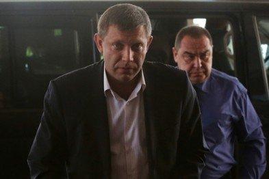 Захарченко и Плотницкий прибыли с Сурковым в Минск