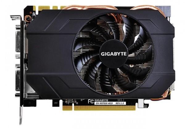Компактная графика Gigabyte GeForce GTX 970 (GV-N970IX-4GD)