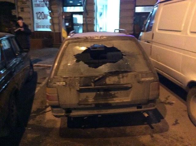 ФОТО: Взрыв в Одессе: подорвали авто волонтера АТО
