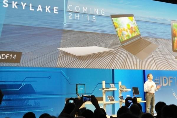 Мобильные Intel Skylake появятся в конце 2015 года
