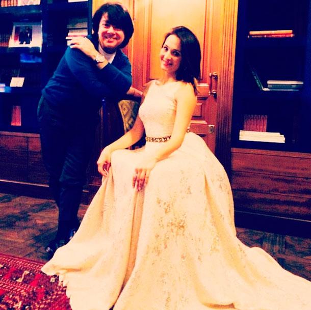 Николай Басков купил невесте свадебное платье