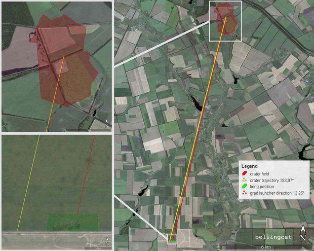 ФАКТ: Спутник зафиксировал обстрел Украины с территории РФ