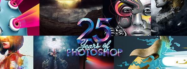 Сегодня исполняется 25 лет с выхода редактора Photoshop