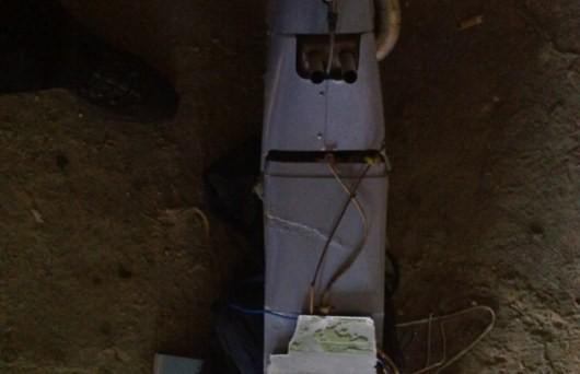 ФОТО: Над Дзержинском сбили беспилотник ДНР