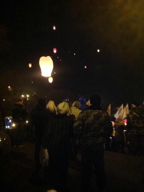 ФОТО: Одесса почтила память воинов Небесной сотни