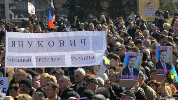 Самые яркие и показательные заявления Януковича за год. ФОТО