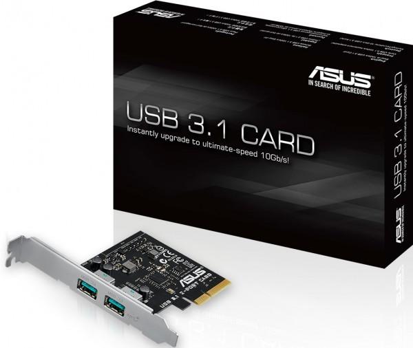 Решения ASUStek с поддержкой порта SuperSpeed+ USB 3.1