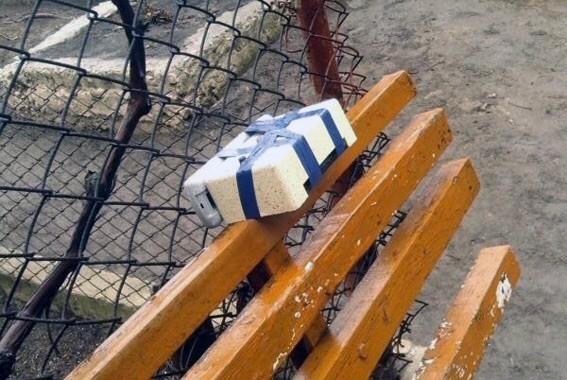 В Одесской области у подъезда дома найден муляж бомбы