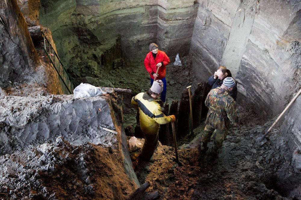 Кличко пообещал сохранить археологическую находку (ВИДЕО)