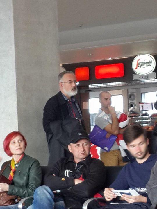Дмитрий Табачник возвратился в Украину (ФОТО)
