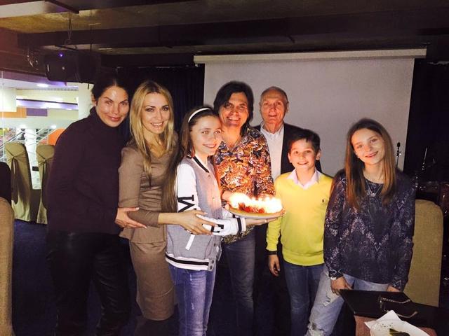 Ольга Сумская отпраздновала день рождения дочери