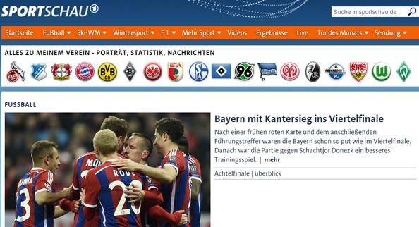 Бавария - Шахтер: Обзор немецкой прессы после матча