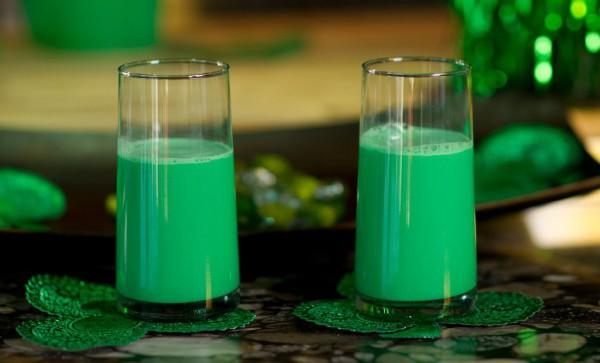 День святого Патрика 2015: Три рецепта зеленых напитков