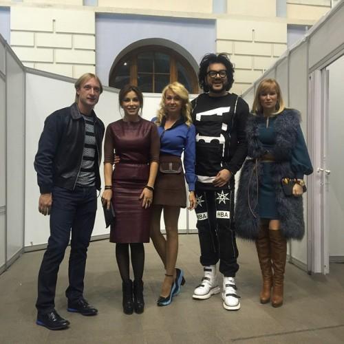 Ани Лорак посетила с Киркоровым модный показ в Москве (ФОТО)