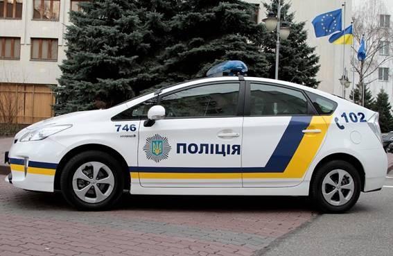 ФОТО: МВД определилось с дизайном для полицейской машины