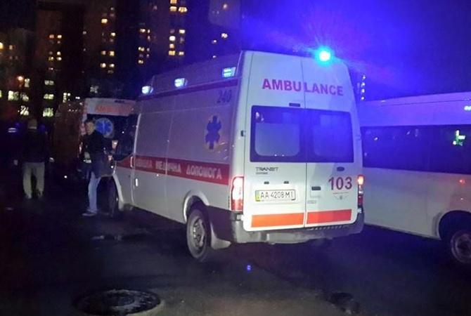 В Киеве на стройке стреляли, есть раненые