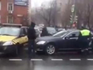 В Москве Михаил Горбачев на автомобиле попал в ДТП