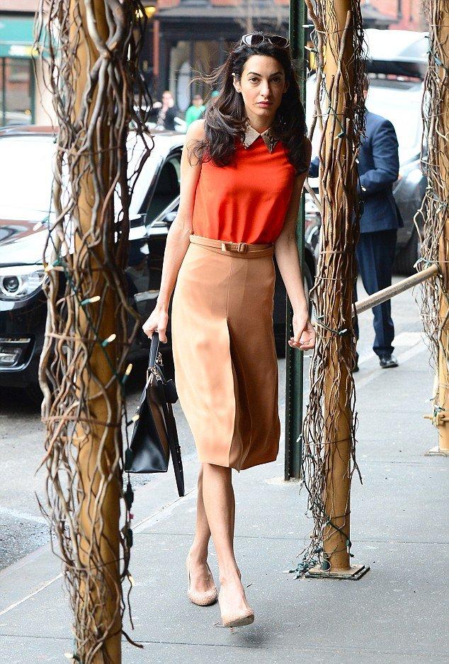 Амаль Клуни продемонстрировала элегантный наряд