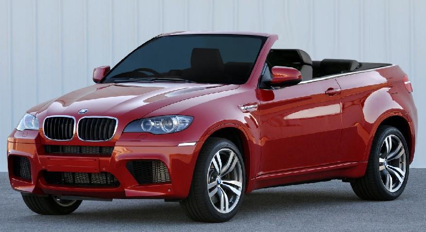 Выйдет ли BMW X6 Cabrio (Фото)