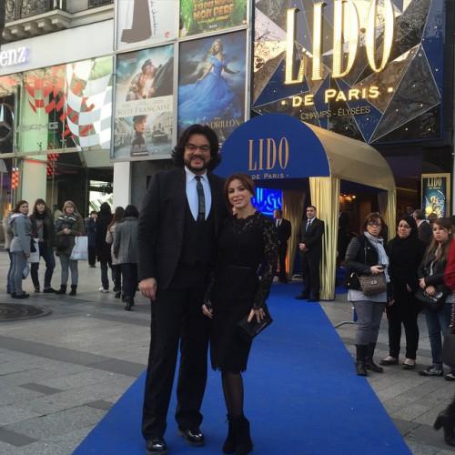 Али Лорак отдохнула с Киркоровым в Париже