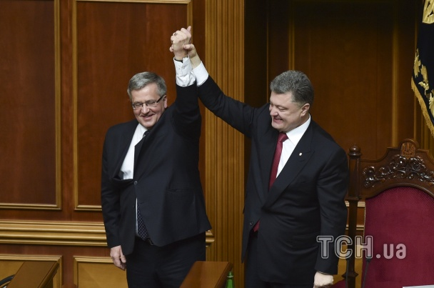 Президент Польши произвел фурор в Верховной Раде